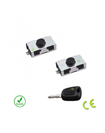 Bouton switch clé 106 206 306 406