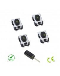 Bouton switch télécommande clé C2 C3 C4 C5 C6 C8