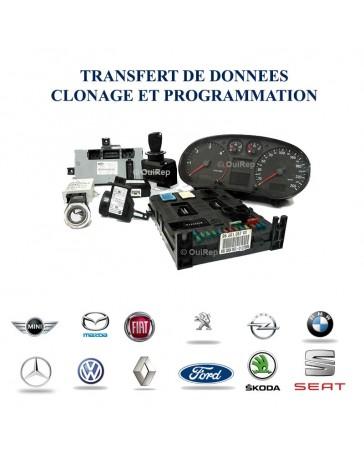 Clonage module électronique automobile