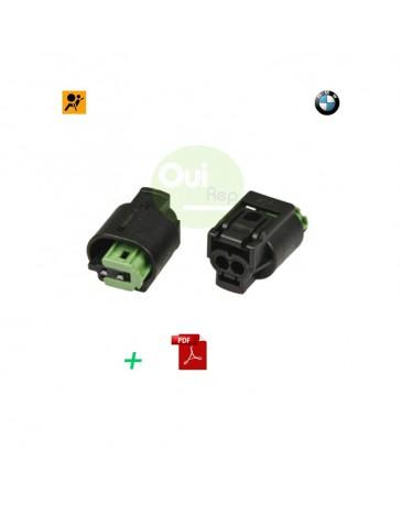 Solution voyant airbag allumé BMW SERIE 6 E63 E64