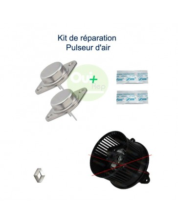 Kit réparation pulseur d'air Renault Scenic