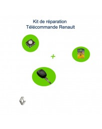 Kit réparation-télécommande-Renault